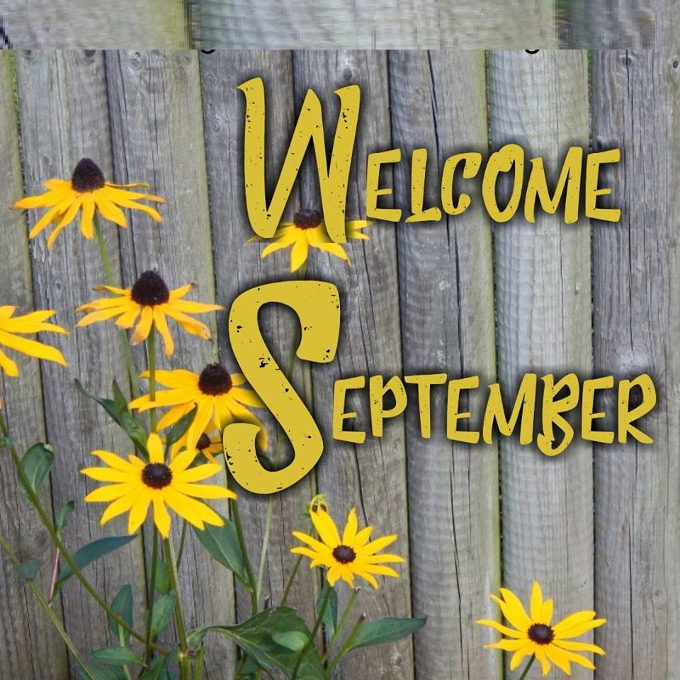 Welcome September Keep Calm Quotes Wallpaper