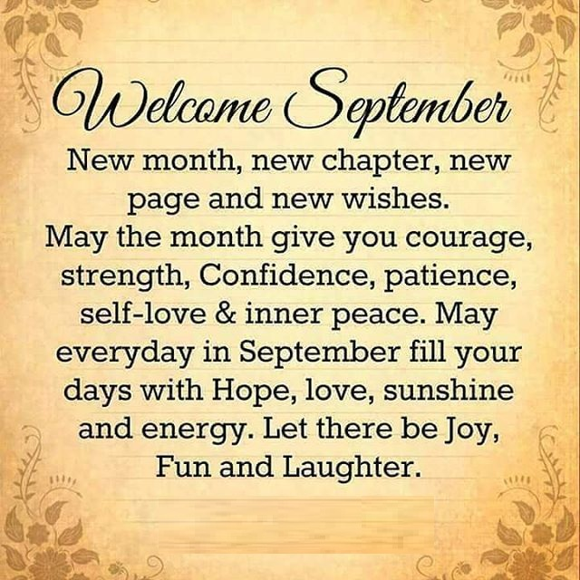 Welcome September Quotes Pics 2019