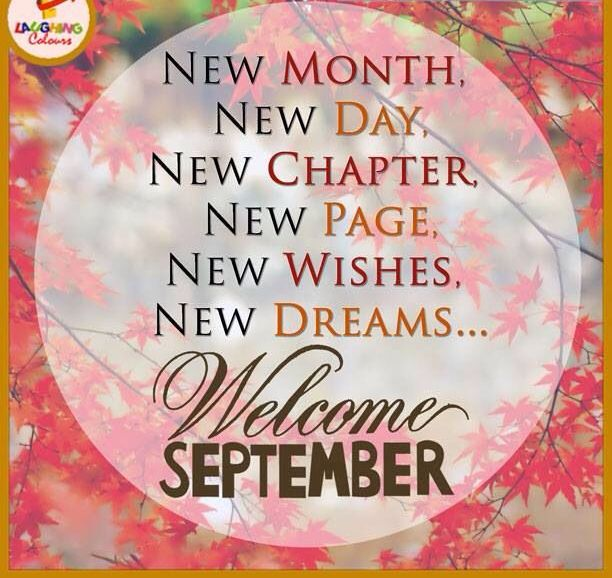 Welcome September Quotes and Saying