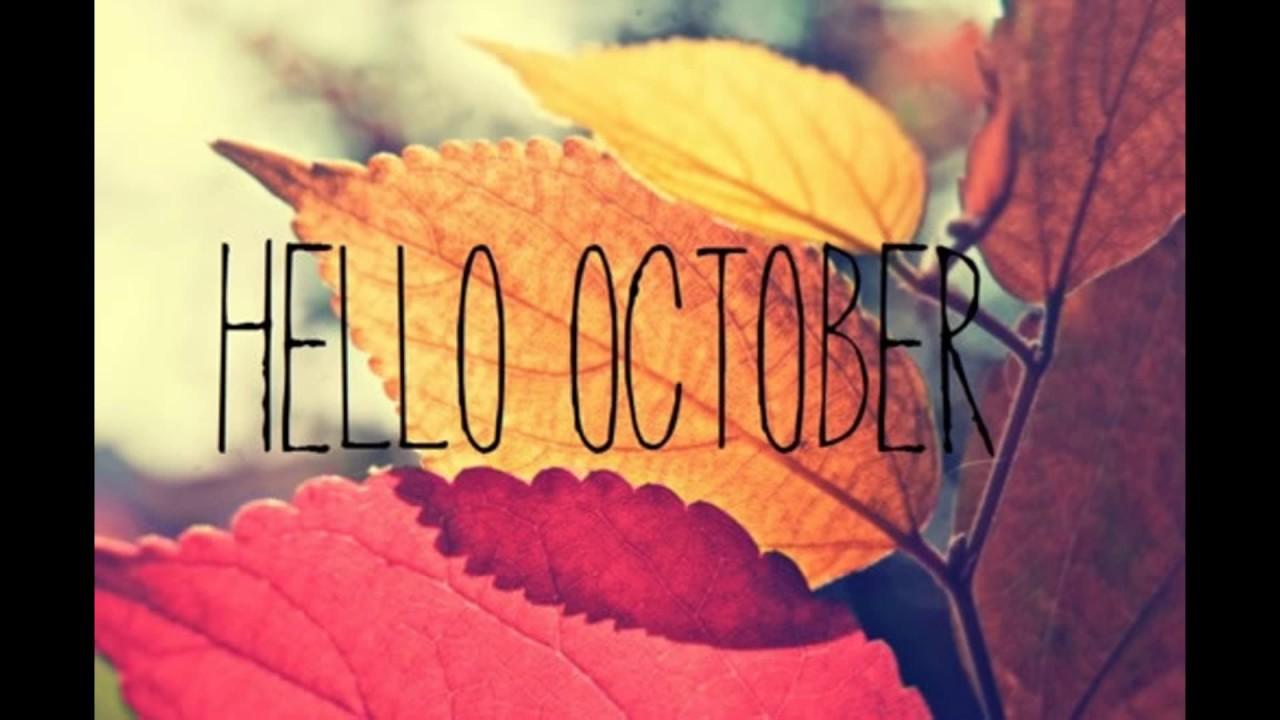 Hello October Wallpaper Download