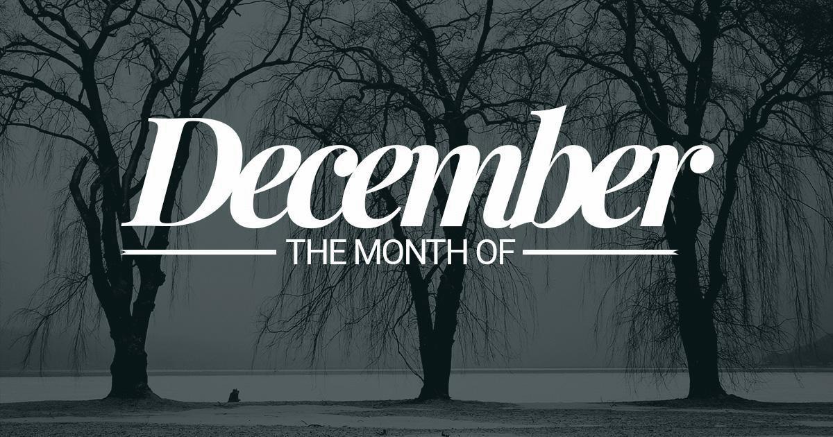 December Month Images