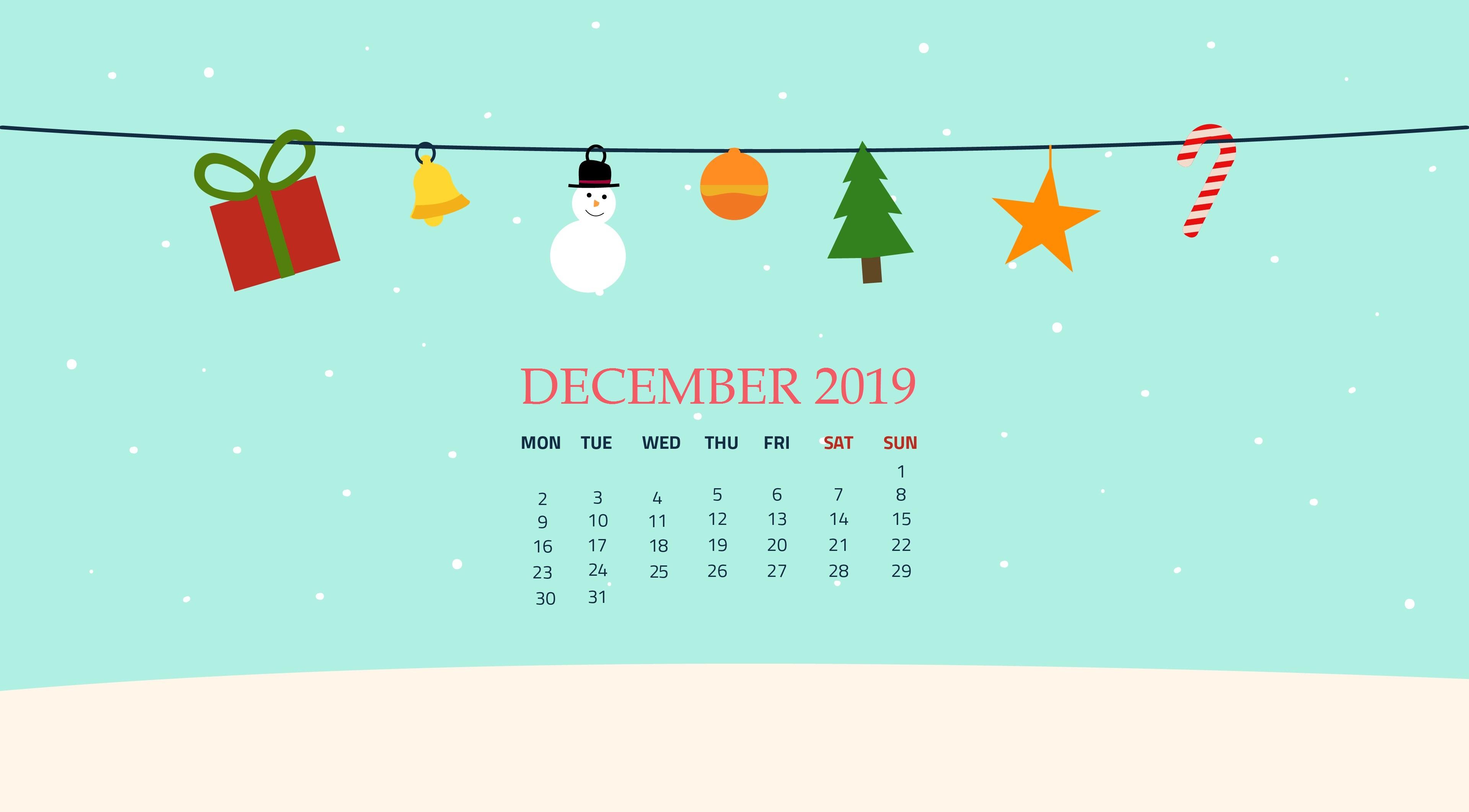Free December 2019 Wallpaper