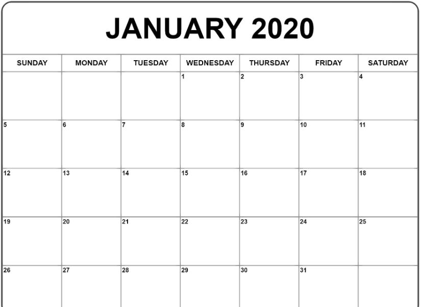 Full Moon Calendar for January 2020