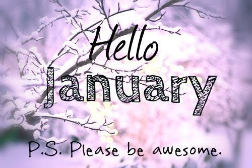 Hello January Pictures and Quotes