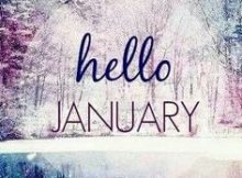 Hello January Quotes for Facebook