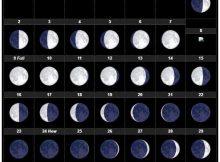 March Moon Calendar 2020